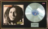 BOB MARLEY - LP Platinum disc & cover - KAJA